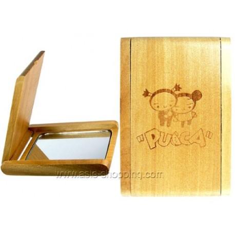 Miroir en bois pucca