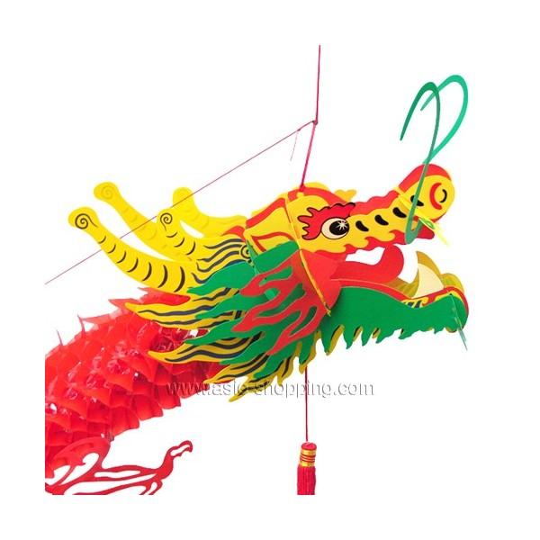 Dragon chinois s rigraphi suspendre 150cm pour - Photo de dragon chinois ...