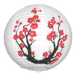 Boule japonaise branche fleurie Ø40cm