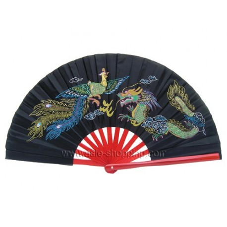 Eventail de Tai Chi / Kung Fu