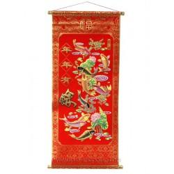 Rouleau chinois poissons et lotus