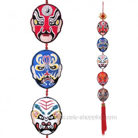 Guirlande de 5 masques