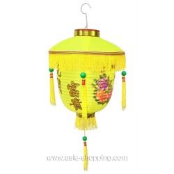 Lampion chinois de palais jaune