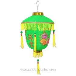 Lampion chinois de palais vert