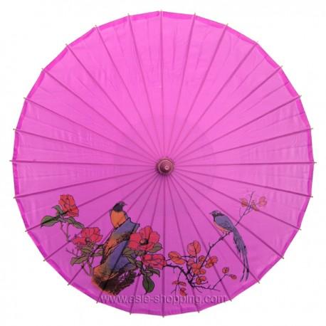 Ombrelle chinoise fushia