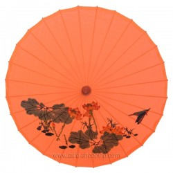 Ombrelle chinoise orange