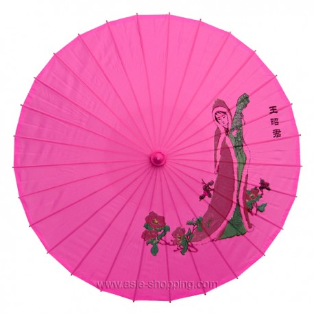 Ombrelle chinoise rose