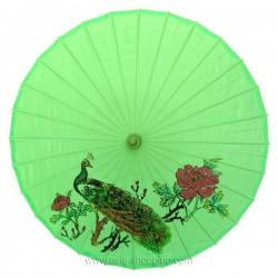 Ombrelle chinoise verte