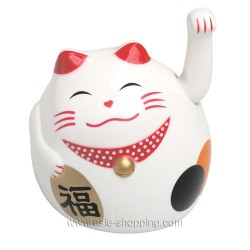 Chat porte bonheur Maneki Neko 11cm
