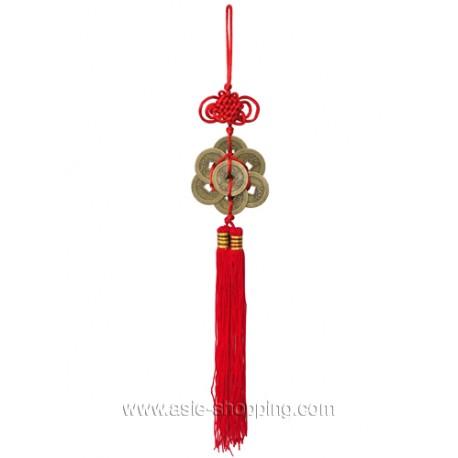 Porte bonheur pieces chinoises