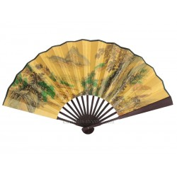 Eventail chinois 60cm paysage