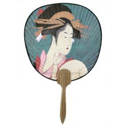 Eventail japonais uchiwa