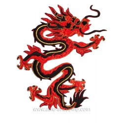 Broderie thermo-collante dragon
