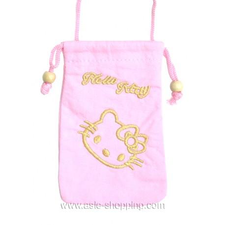 Pochette Hello Kitty pour portable