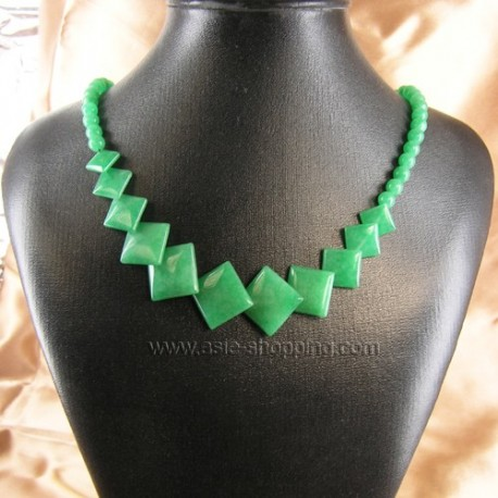 Collier ruyi de jade