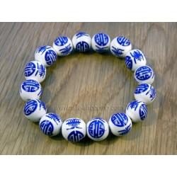 Bracelet de perles en cloisoné