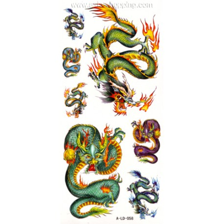 Tatouage Dragon Tat Ald 058