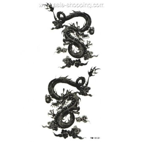 tatouage dragon tat ym x131. Black Bedroom Furniture Sets. Home Design Ideas