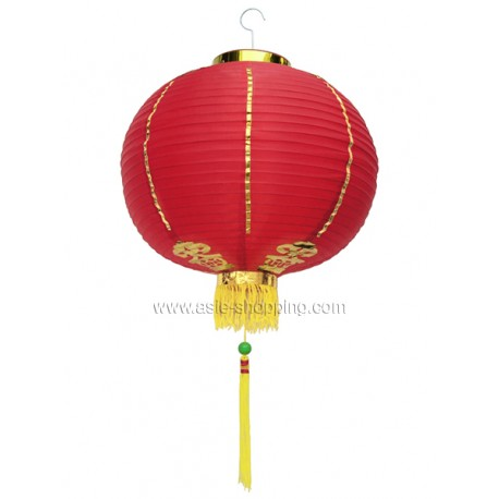 Lampion chinois rouge