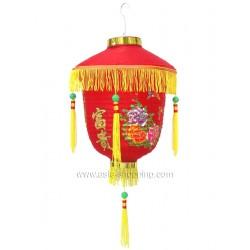 Lampion chinois de palais rouge Ø30cm