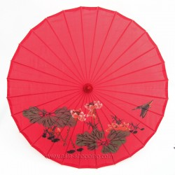 Ombrelle chinoise rouge