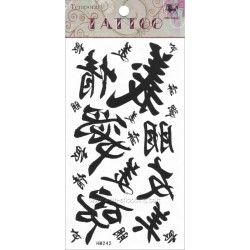 Tatouage chinois temporaire