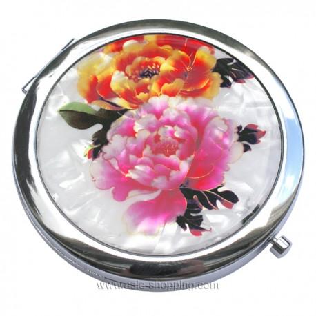 Miroir de poche en métal