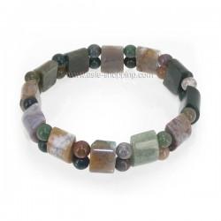 Bracelet en pierre agate