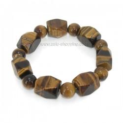 Bracelet en pierre oeil de tigre