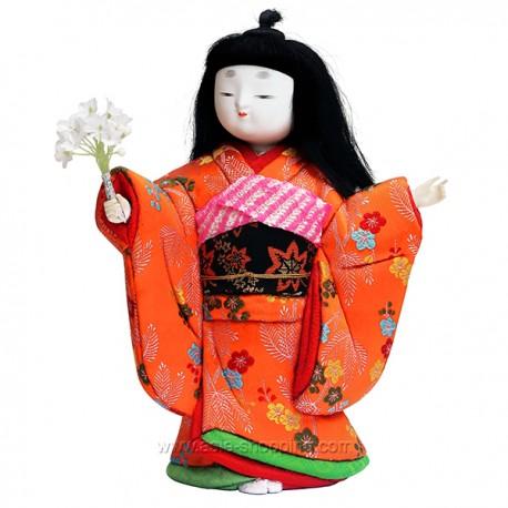 Poupée japonaise Kimekomi