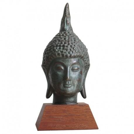 Tête de Bouddha thaï