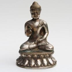 Statuette de Bouddha en métal