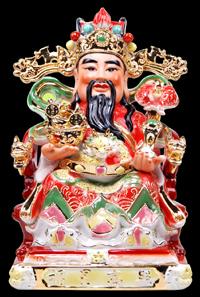 Caishen Dieu de la fortune chinois
