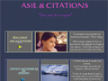 Asie et Citations