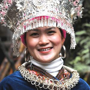 Bijoux ethniques d'Asie