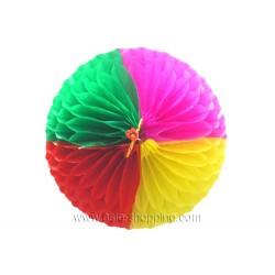 Déco asiatique boule 4 couleurs