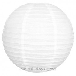 Boule japonaise blanche Ø40cm