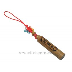 Décor de portable porte bonheur bouddhiste