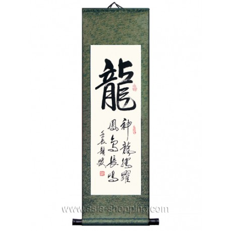 Calligraphie chinoise Dragon