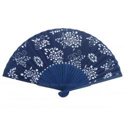 Éventail chinois en batik