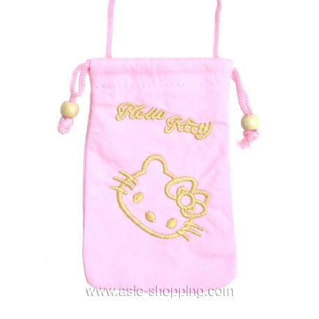 Pochette Hello Kitty pour portable