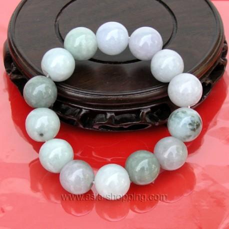 Bracelet en perles de jade