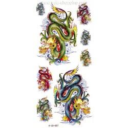 Tatouage dragon temporaire