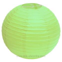 Boule japonaise verte printemps Ø40cm