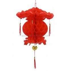 Décoration asiatique boule pagode 40 cm