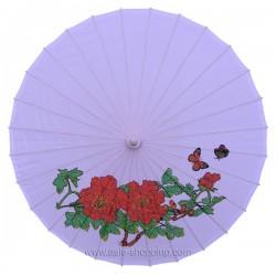 Ombrelle chinoise mauve