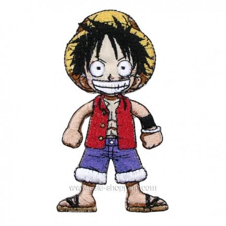 Broderie thermo-collante One Piece