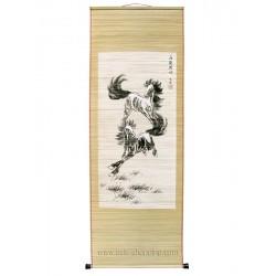 Peinture chinoise sur bambou