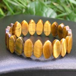 Bracelet en pierre œil de tigre