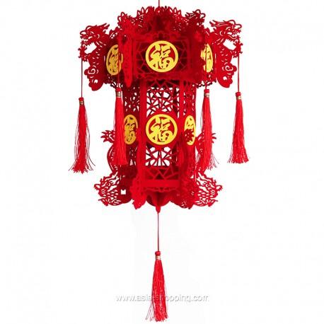 Décoration lanterne chinoise à monter